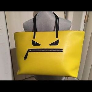 Fendi Monster Large Tote